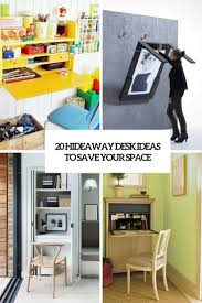 Hideaway Desk Ideas To Save Your Space Cover ...