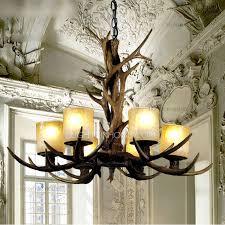 creative shade glass antler chandelier 397 99 european chandelier