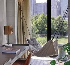 Beds & Accessories by Tracie Herrtage of Le Beanock at 1 Hotel Brooklyn  Bridge, Brooklyn