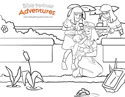 A Coloring Page For Kids From
