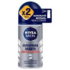 Шариковый <b>дезодорант</b> для мужчин <b>Nivea Серебряная</b> защита ...