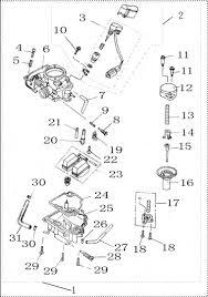 gy cc engine parts breakdown gy6 carburetor diagram