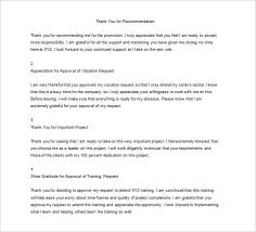23 Thank You Letter To Boss Templates Free Sample