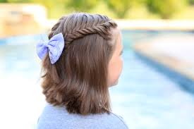 Lace Hair Style how to create a lace fishtail tieback cute girls hairstyles 4466 by wearticles.com