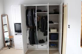 Image of: Custom Wardrobe For Small Bedroom