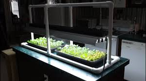 Hydroponic Light Stand Hydroponic Seed Starting Simple Pvc Grow Light Stand