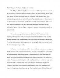 plato s allegory of the cave analysis and summary research paper similar essays plato s allegory of the cave