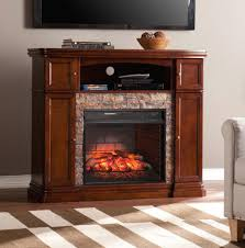 southern enterprises westchester 47 5 in faux stone infrared media intended for mesmerizing stone electric fireplace tv stand your residence idea