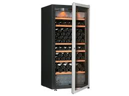 freestanding wine cooler with built in lights pure medium wine cooler with glass