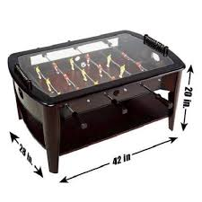 Amazon.com: Foosball Coffee Game Wood 42