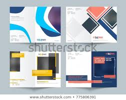 Business Proposal Cover Page Business Proposals Cover Page Design Set Stock Vector Royalty Free