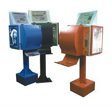 Newspaper Vending Machine Locations Inspiration Newspaper Vending Machine Newspapers Stands Pinterest More
