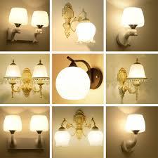 Wall Mounted Lights Iron Wall Lamp Led Living Room Wall Mounted Indoor Lighting