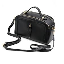 ocean fashion multi compartment leather purse shoulder bag image 0