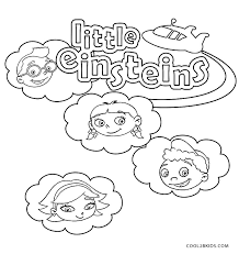 Small Picture Printable Little Einsteins Coloring Pages For Kids Cool2bKids