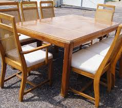 cane back dining room set with custom wicker back side chair set of