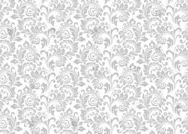 White Pattern Background Awesome White Damask Gray Grey Floral Pattern Background Vinyl Cloth High