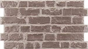 manhattan rustic grey brick effect