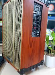 Bộ Loa Kéo di động karaoke Arirang MKS1 Kèm 02 Micro + Bộ sạc pin, Pin
