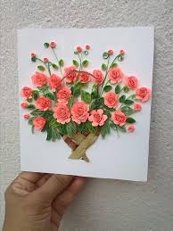 Paper Quilling Flower Baskets 17 Best Images About Quilling Flower Pots On Pinterest Simple Home
