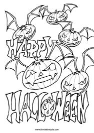 Halloween Da Colorare Favole E Fantasia