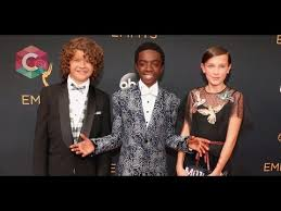 """Stranger Things Kids Perform at the Emmys 2016 - Eleven, Dustin, Lucas  Bruno Mars """"uptown funk"""" HD - YouTube"""