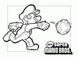 Mario Birthday Cards To Print Invitation