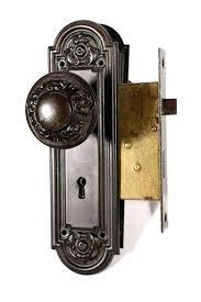 door knob sets sold antique door hardware set with doorknobs plates mortise lock interior glass door knob sets