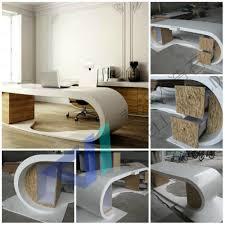 office desks designs. Pure White Curved Glass Office Table Boss Design Desk For 2 People Desks Designs