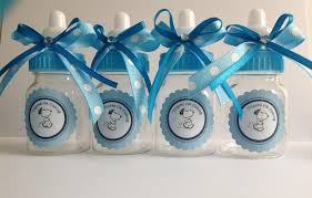small snoopy bottles baby shower favors boy supplies candle large size