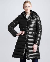Lyst - Moncler Aphrotiti Shiny Quilted Down Coat W/fur Hood in ... & Moncler. Women's Black Aphrotiti Shiny Quilted Down Coat ... Adamdwight.com