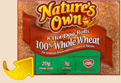nature s own 100 whole wheat