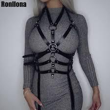 <b>Leather Body Harness</b> Bdsm Bondage Lingerie <b>Women</b> Sexy Tops ...