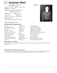 Top Acting Modeling Resume Template Stunning How To Make A Modeling Resume  Ideas Simple Resume