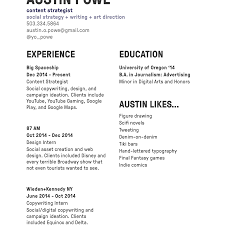 Austin Powe Resume