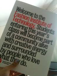 best fit images nyc manhattan and college life fashion institute of technology acceptance letter