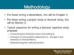 Writing your Dissertation  Methodology