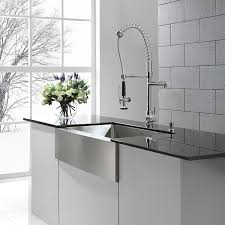 STERLING Ludington ApronFront Stainless Steel 32 In Single Bowl Stainless Steel Farmhouse Kitchen Sinks