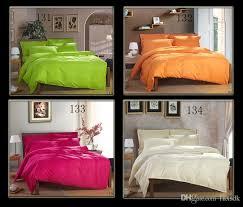 green orange blue white red hotel home twin queen king size cotton satin stripe bedding set bed linen satin comforter cove duvet cover comforter set queen