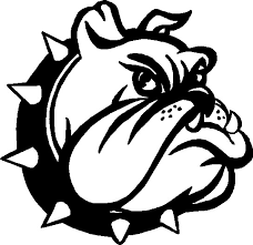 bulldog clipart black and white. Unique White Bulldog Word Clipart  Kid Black And White Stock Intended Black And White G