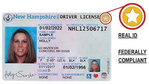 Make Your Own Identification Card Real Id Driver Licensing Division Of Motor Vehicles Nh