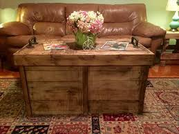 diy solid pallet coffee table with