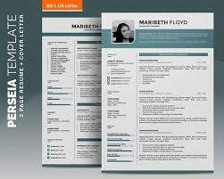 2 Page Cv Template Resume Template Cv Template 2 Pages Word Cv Design Cover