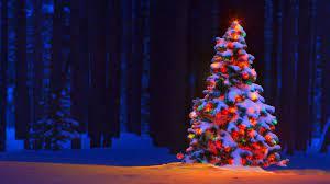 Christmas Tree Wallpapers on WallpaperDog