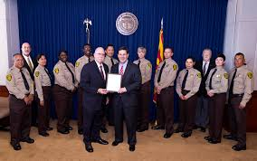 Arizona Correctional Officer Governor Ducey Honors Arizona Correctional Officers Arizona