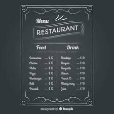 Chalkboard Menu Templates Chalkboard Menu Vectors Photos And Psd Files Free Download