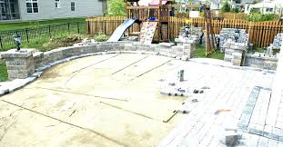 cost of patio pavers per square foot popular s installation cost cost of patio pavers vs concrete