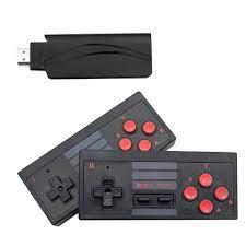 Máy chơi game điện tử cầm tay 4 nút bộ điều khiển trò chơi không dây