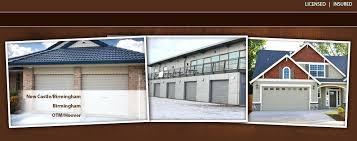 garage doors birmingham al amarr garage doors birmingham al