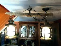 wood beam light fixture chandelier sphere fixtures pendant lighting distressed a diy w